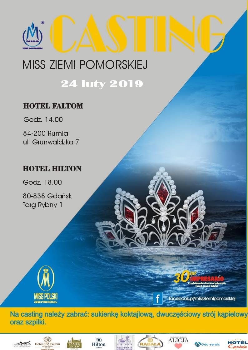 Casting Miss Ziemi Pomorskiej