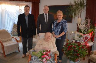100 urodziny Aleksandry Wojciechowicz z Czeczewa! [ZDJĘCIA]