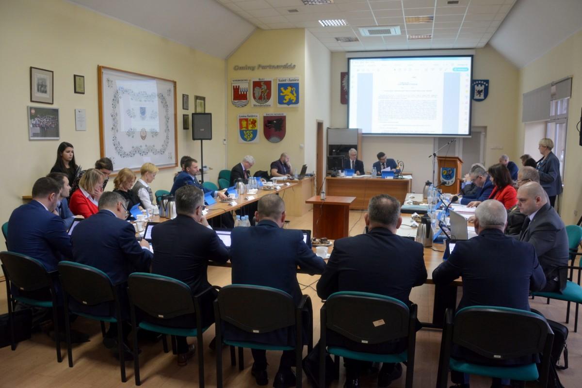 V Sesja Rady Miejskiej w Żukowie