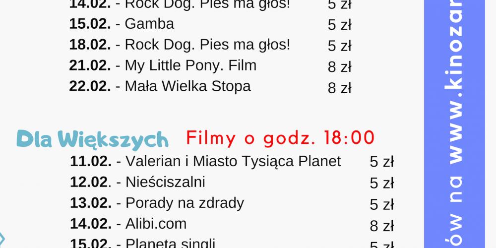 Kino za Rogiem w Chmielnie zaprasza na seanse filmowe w ferie