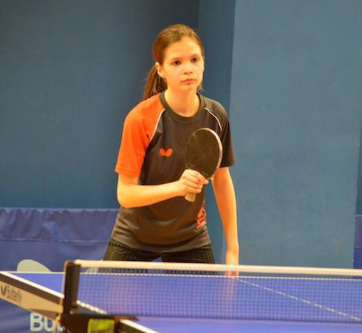 Agata Felskowska z awansem Mistrzostw Polski młodziczek w tenisie stołowy