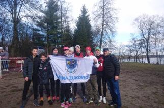 Żukowscy biegacze z trzema medalami w Człuchowie