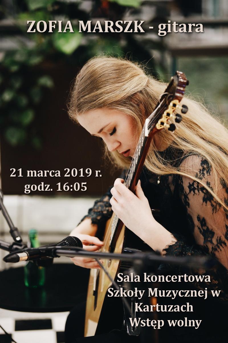 Koncert Zofii Marszk