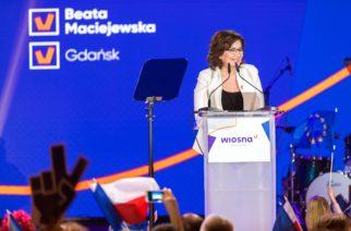 """Beata Maciejewska """"jedynką"""" Wiosny na pomorskiej liście do Parlamentu Europejskiego"""