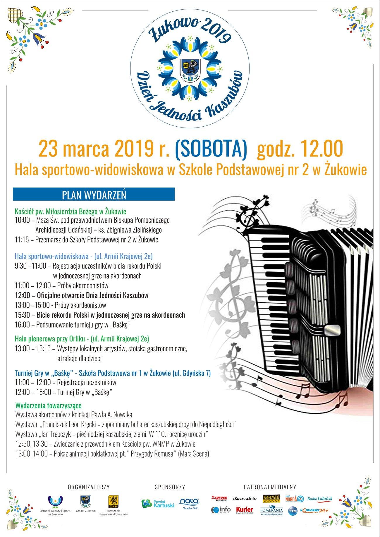 Dzień Jedności Kaszubów 2019 - Żukowo