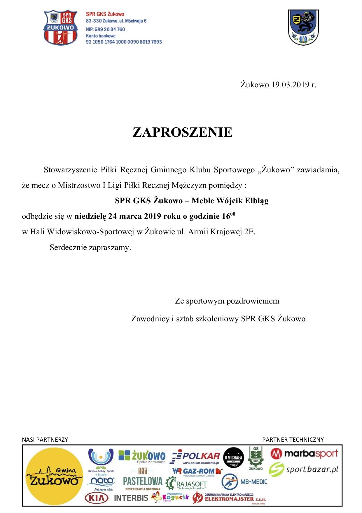 SPR GKS Żukowo - Meble Wójcik Elbląg