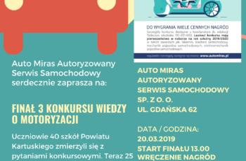 3. Konkurs Wiedzy o Motoryzacji
