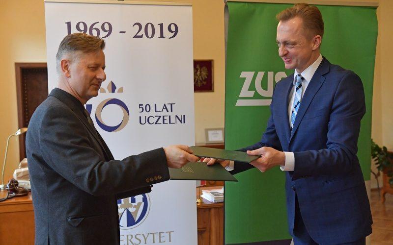 Współpraca Uniwersytetu Kazimierza Wielkiego z ZUS-em