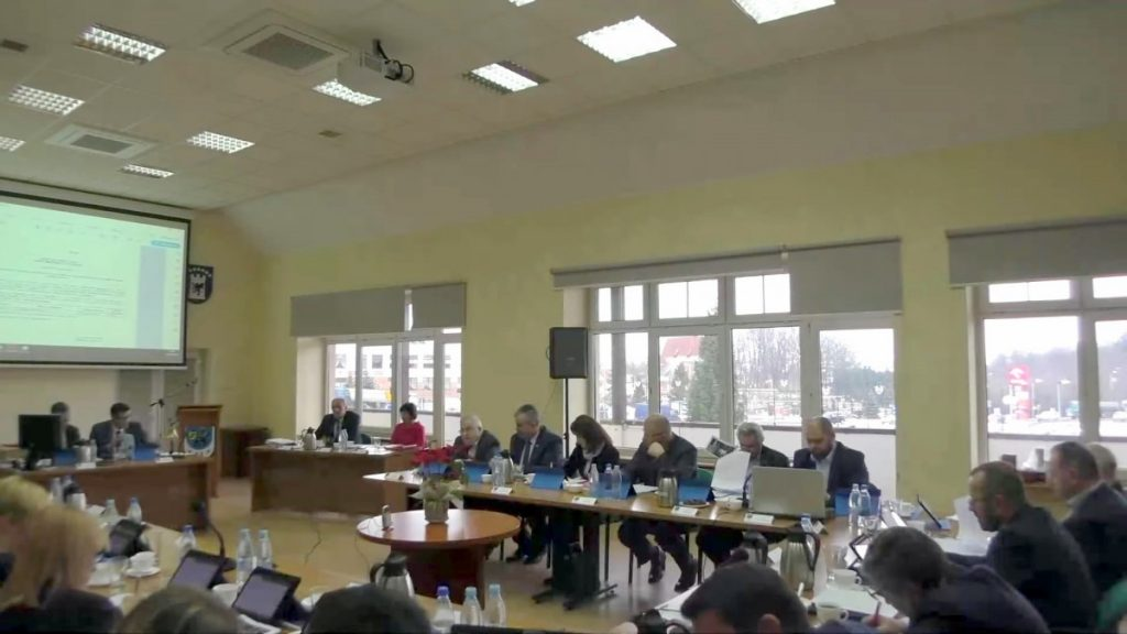 VI Sesja Rady Miejskiej w Żukowie