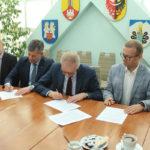 Podpisano umowę na budowę hali i łącznika przy ZSP Przodkowo