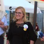 Magdalena Adamowicz spotkała się z mieszkańcami Kartuz