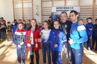 Gevorg Sahakyan powitany w Kartuzach