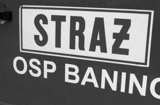 Zmarł Druh Honorowy OSP w Baninie Edward Szwabe