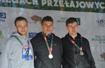 Wojciech Serkowski z srebrnym medalem Akademickich Mistrzostw Polski