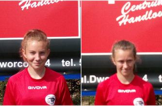Julia Cyman i Oliwa Gniba powołane do kadry Pomorza U-14