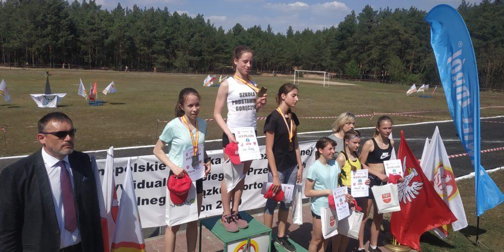 Julia Gruchała Mistrzynią Polski w biegach przełajowych Igrzysk Młodzieży Szkolnej!