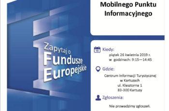 Bezpłatne konsultacje w ramach Mobilnego Punktu Informacyjnego