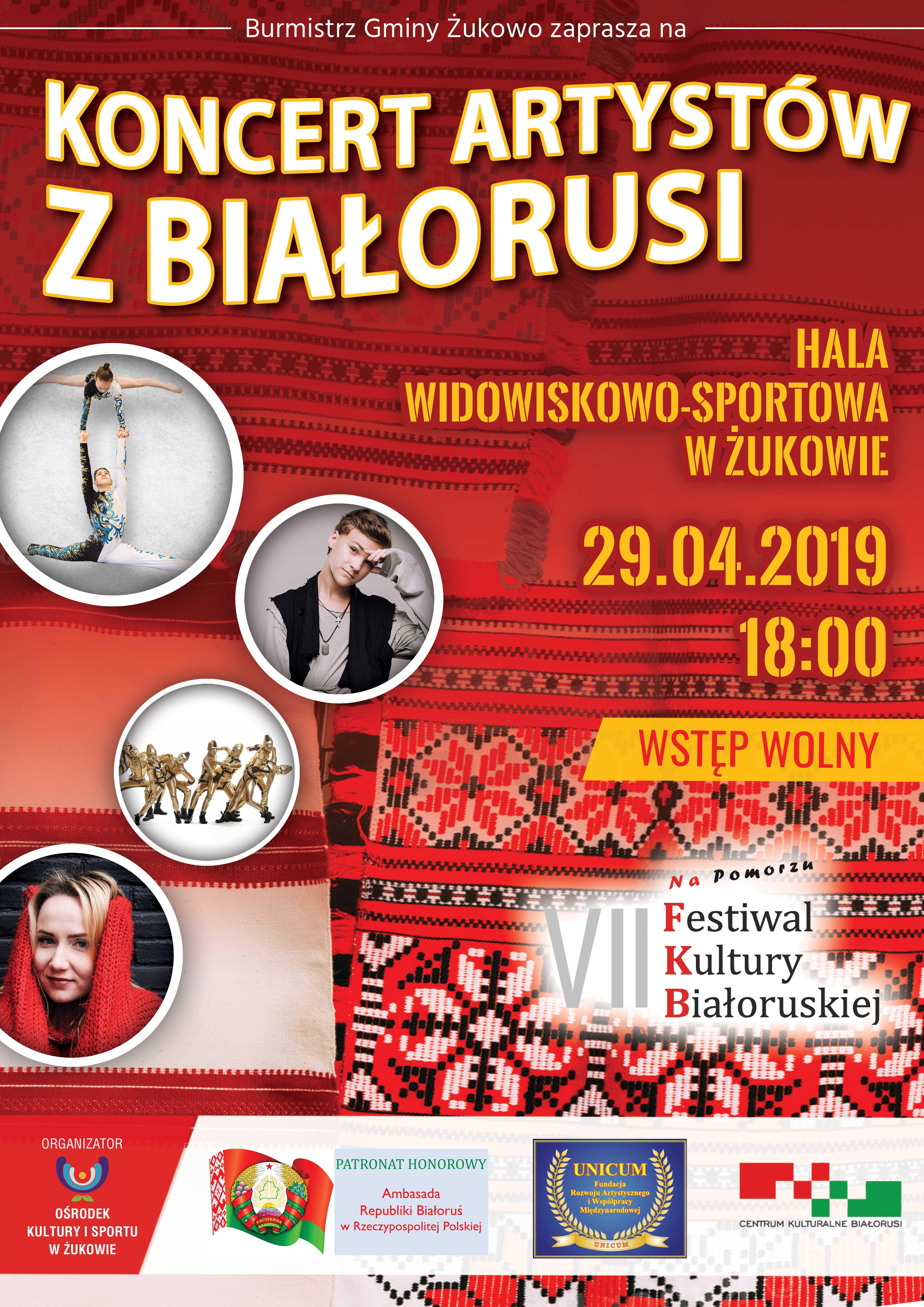 Koncert artystów z Białorusi