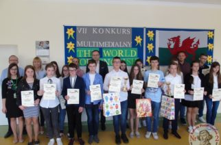 "VII Multimedialny Konkurs Języka Angielskiego ""The World of English"""