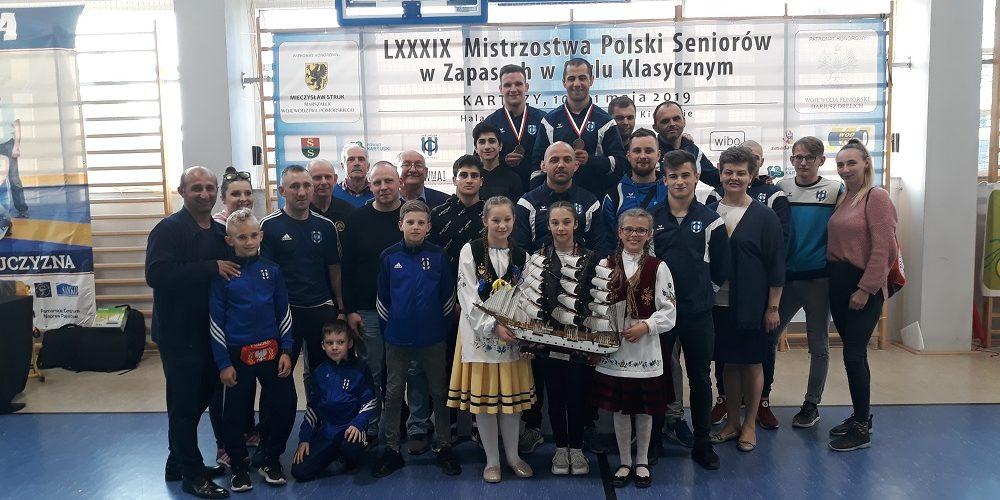 Za nami LXXXIX Mistrzostwa Polski w zapasach!