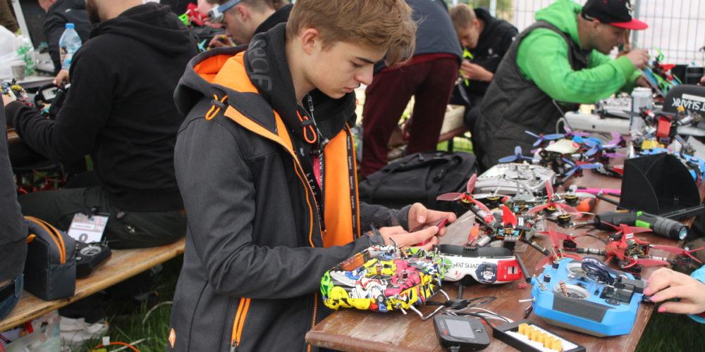 Za nami eliminacje Mistrzostwa Polski w wyścigach dronów [ZDJĘCIA]
