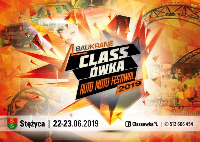 Classówka Baukrane Auto Moto Festiwal