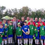 Stężyccy piłkarze na podium Wielkiego Finału Turnieju o Puchar Tymbarku!