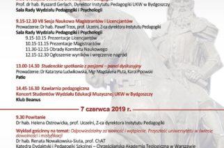 Niedługo Dni Instytutu Pedagogiki Uniwersytetu Kazimierza Wielkiego