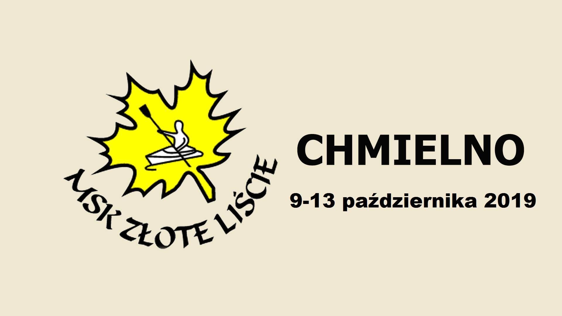 """XLIX Międzynarodowy Spływ Kajakowy """"Złote Liście"""" - Chmielno"""