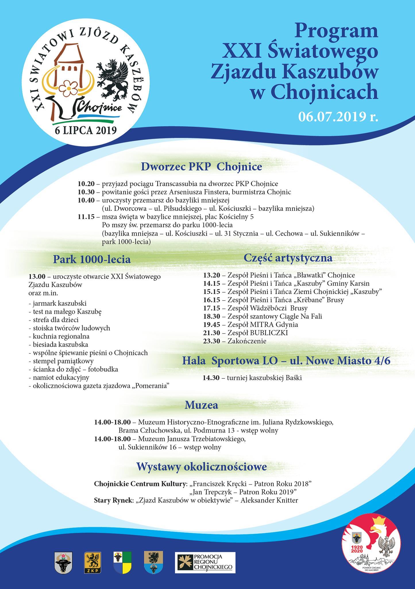 XXI Świat Zjazd Kaszubów w Chojnicach