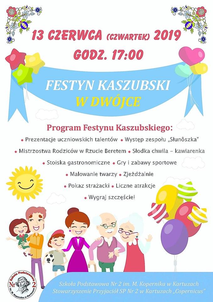 Festyn Kaszubski w Dwójce - Kartuzy