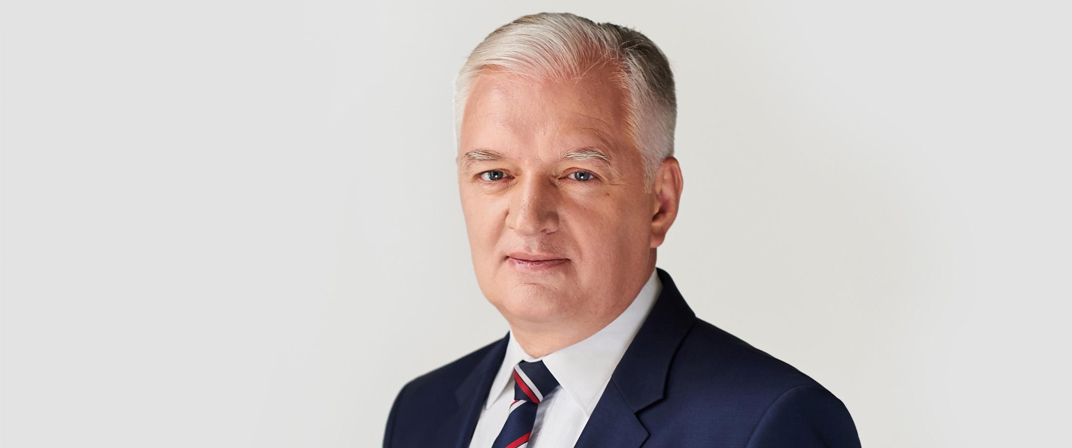 Jarosław Gowin w Kartuzach