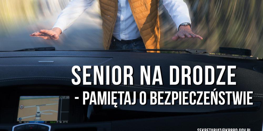 """Akcja """"Senior na drodze"""". Jutro spotkanie dla seniorów w Kartuzach"""