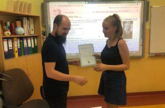 Uczniowie stworzyli hasło o Teodorze Elasie. Ich pracę doceniła Wikipedia! [ZDJĘCIA]