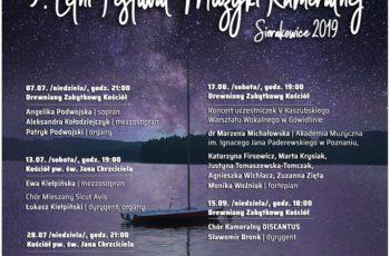 9. Letni Festiwal Muzyki Kameralnej – Sierakowice