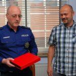 Pożegnano Komendanta Komisariatu Policji w Sierakowicach asp. szt. Witolda Bronk