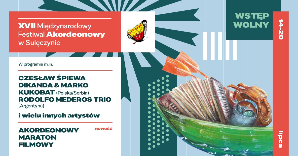 XVII Międzynarodowy Festiwal Akordeonowy w Sulęczynie