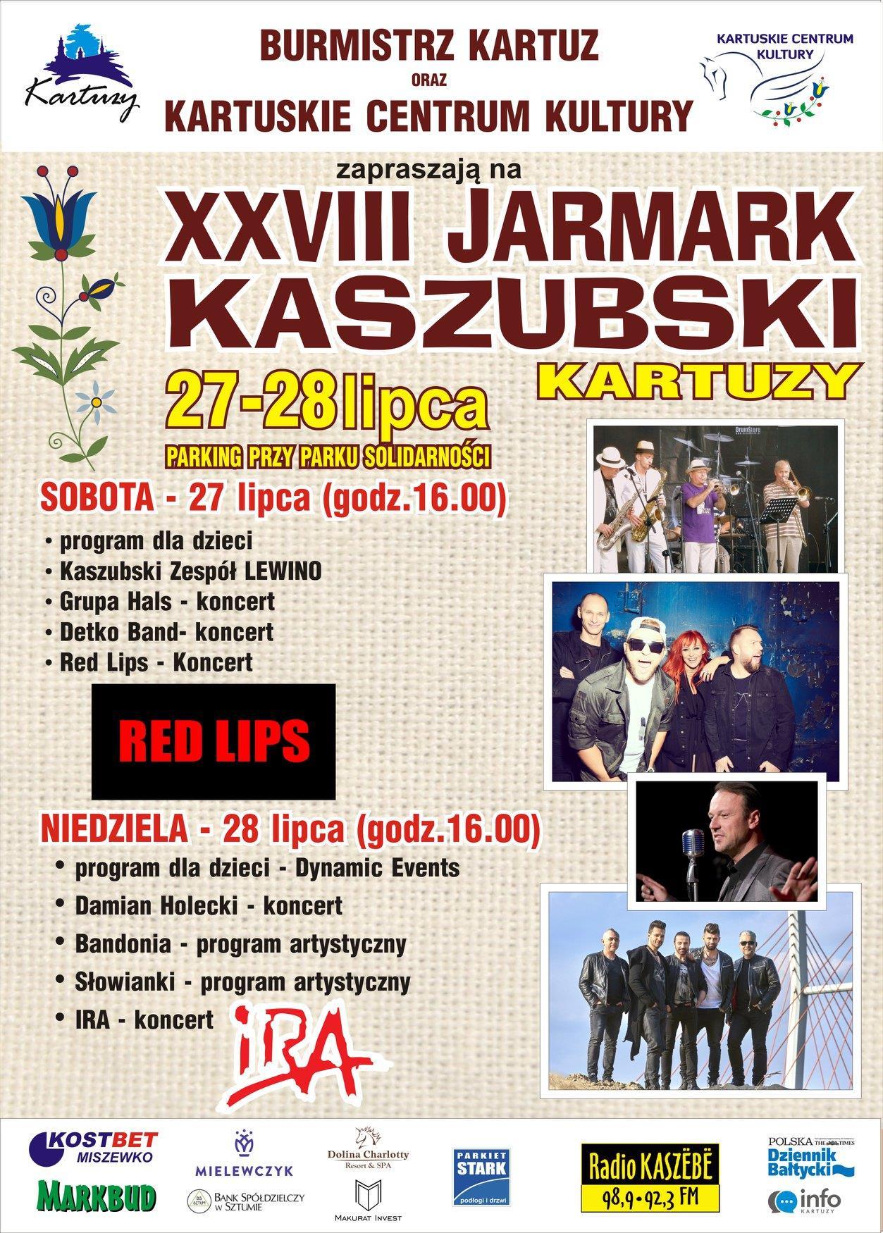 XXVIII JARMARK KASZUBSKI - KARTUZY