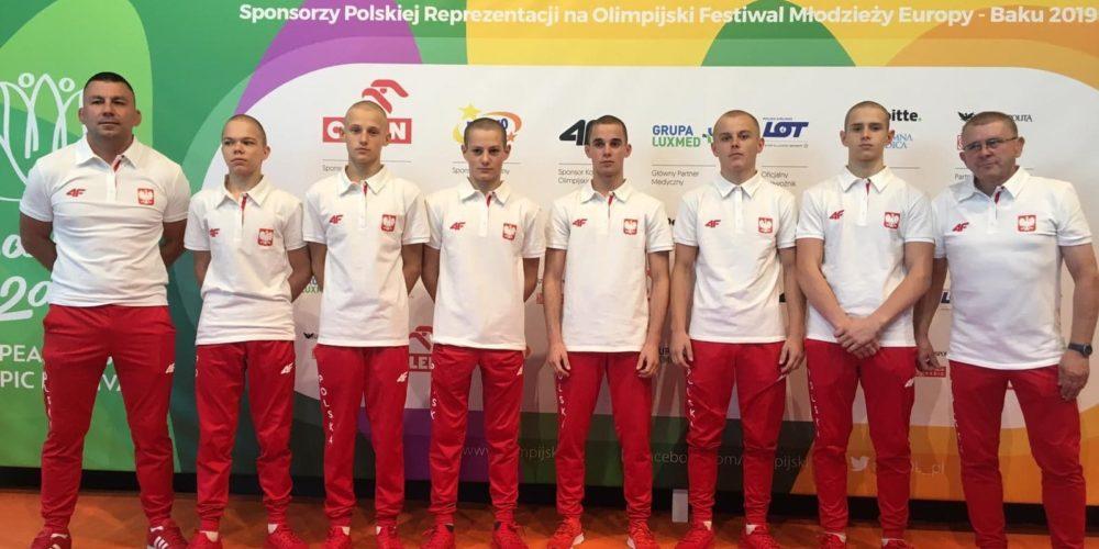 Andrzej Drewa wystartuje na XV Olimpijskim Festiwalu Młodzieży Europy w Baku