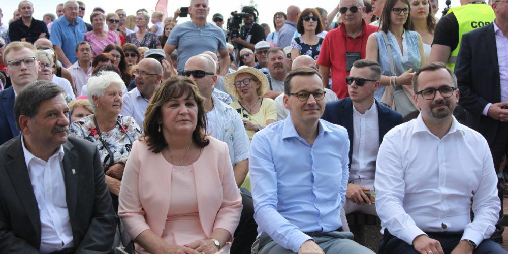 W Stężycy odbył się Piknik Rodzinny z udziałem Premiera Morawieckiego [ZDJĘCIA, WIDEO]