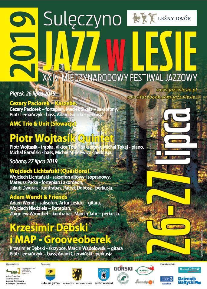 Jazz w Lesie 2019 - Sulęczyno