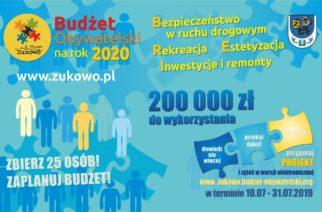 Zgłoś projekt do Budżetu Obywatelskiego w Gminie Żukowo