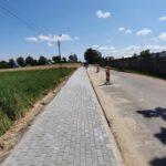 Budowa chodnika w Otominie już na finiszu