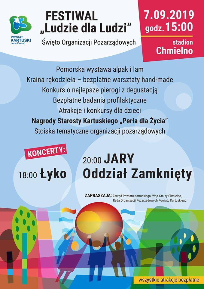 Festiwal Ludzie dla Ludzi - Chmielno