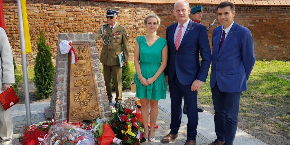 Delegacja z Żukowa w Chełmnie uczciła pamięć 66 Kaszubskiego Pułku Piechoty