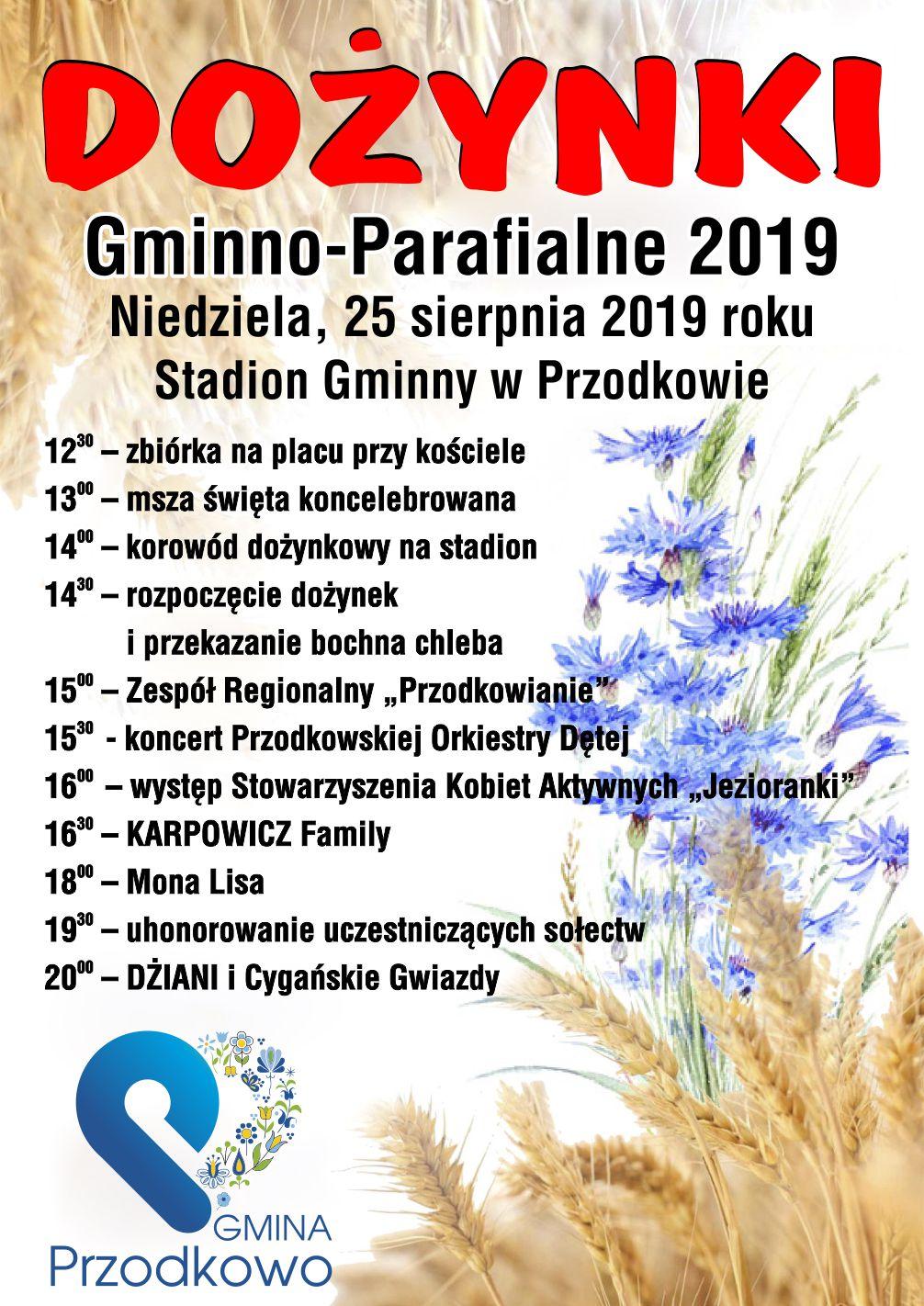 Dożynki 2019 - Przodkowo