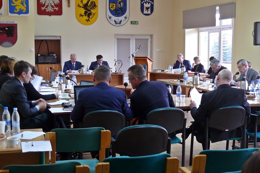 XII Sesja Rady Miejskiej w Żukowie