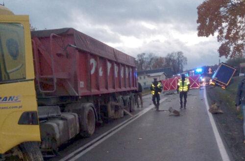 Śmiertelny wypadek w Hopowie