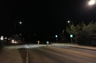 """Przodkowo. Nowe oświetlenie przejść dla pieszych przy stacji benzynowej i przy """"Biedronce"""""""
