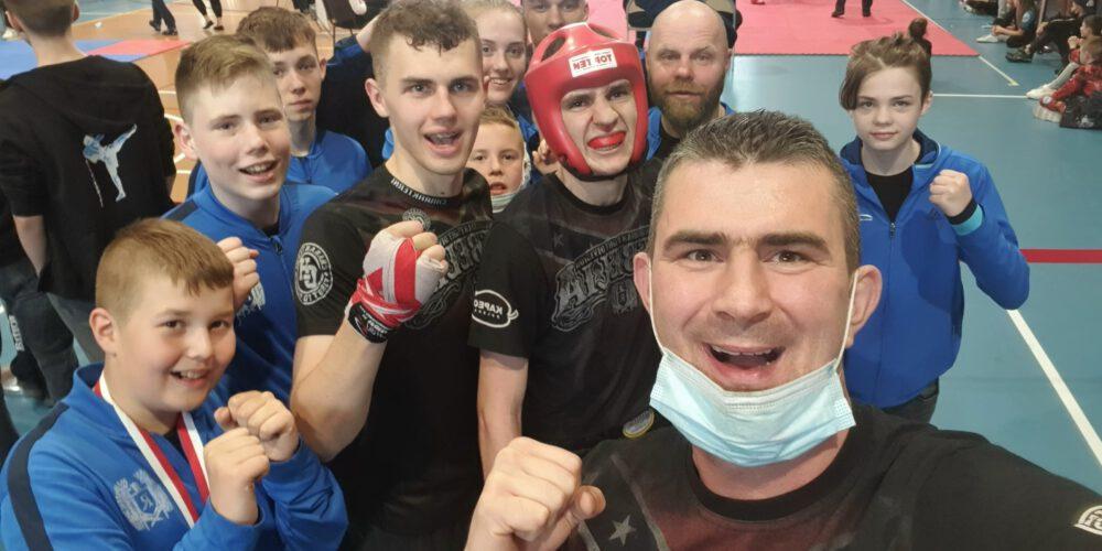 Sport. Mistrzostwa Polski Kick Light Kadetów i Mistrzostwa Polski Light Contact Juniorów